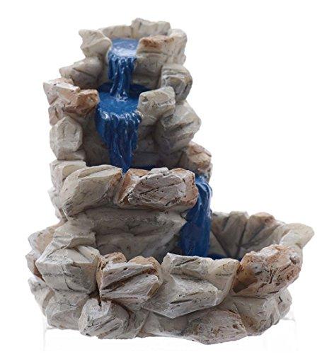Miniature Fairy Garden Stone Fountain