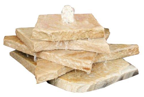 Aqua Rock TSFS Fountain Kit Tan Sandstone Flag Stack