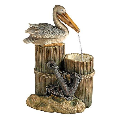 Design Toscano Pelicans Seashore Roost Sculptural Fountain