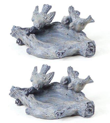 Polyresin Decorative Bird Bath