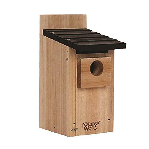Natures Way Bird Products Cwh3 Cedar Bluebird Box House