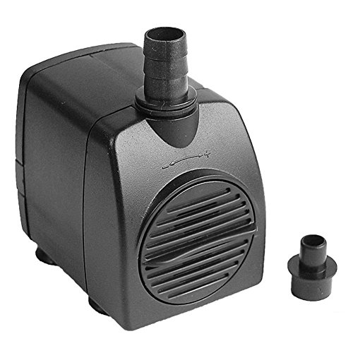 Uniclife Ul210 Submersible Water Pump 210gph Quiet Indoor Outdoor Watergardenfountainpool Aquarium With