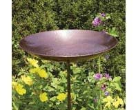 Achla Designs Burnt Copper Birdbath