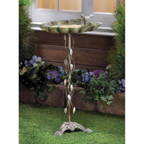 Malibu Creations 39448 Verdigris Bird Bath