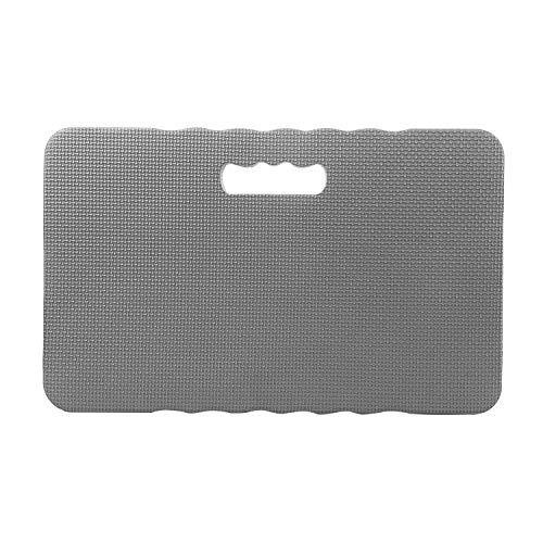 Aguoxing Kneeling Pad Protection Garden Bath Floor Kneeler Support Yoga Mat for Gardening Baby Bathing Yard Work Grey 18x 11x 1