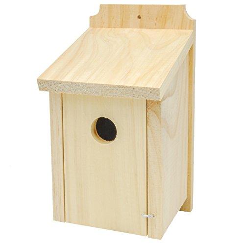 Gardirect Wild Bird Classic Nesting Box Bird House For Blue Tit Sparrow