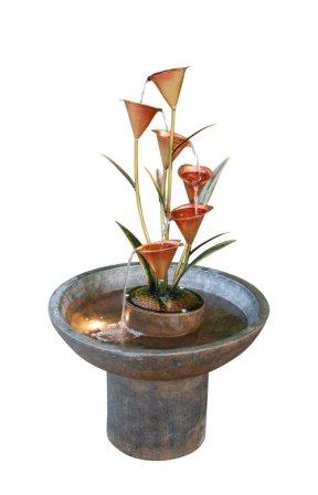 3850h Copper Bronze Indooroutdoor Fountain