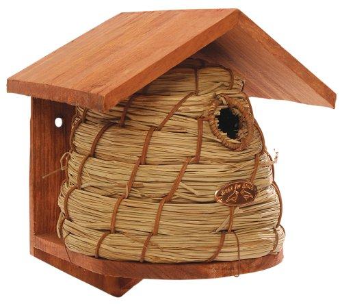 Esschert Design Beehive-style Birdhouse