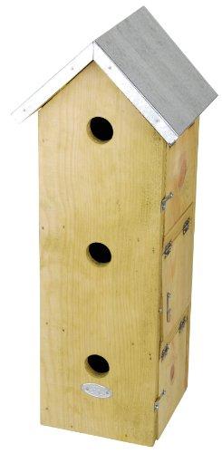 Esschert Design Usa Nkm Three Story Sparrow Birdhouse