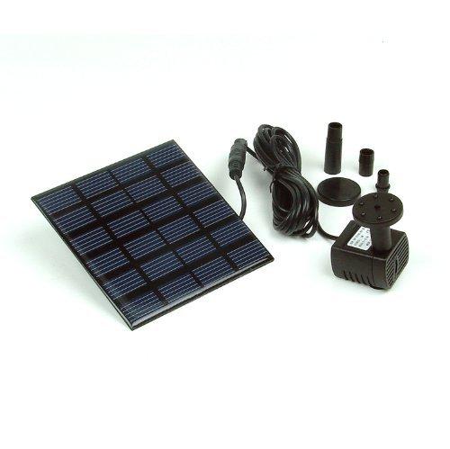 Instapark5 Head Solar Pump Garden Fountain Pond Water Feature
