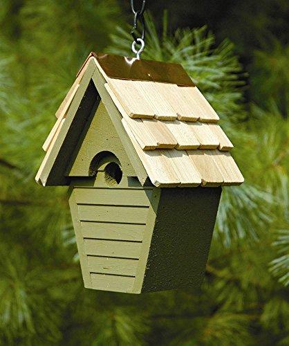 Wren-In-The-Wind Bird House in Pinion Green