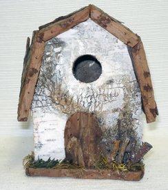 Birch Barn Bird House