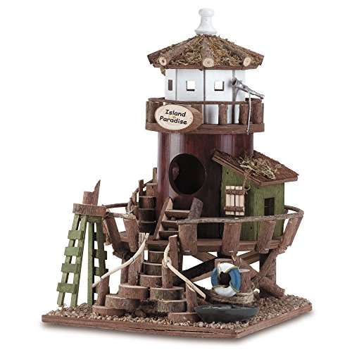 Ship from USA Lighthouse Station Birdhouse - Style 34716 ITEM NO8Y-IFW81854280432