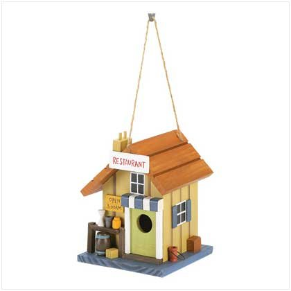 Country Diner Birdhouse - Style 39477