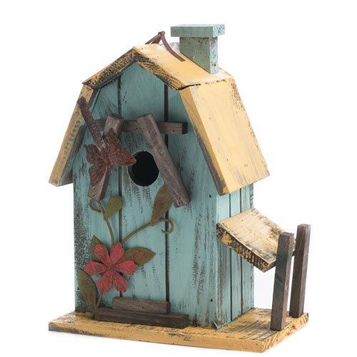 Factory Direct Craft&reg Tweet Sweet Rustic Wooden Decorative Barn Style Birdhouse