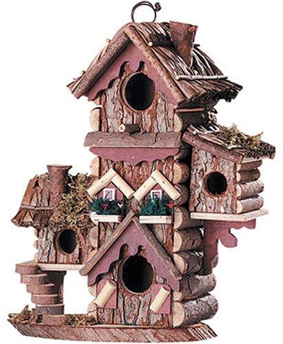 Gingerbread Style Birdhouse Avian Bird House Condo