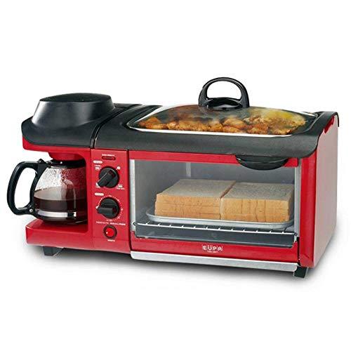 BBG Breakfast Machine Home Oven Bread Machine teppanyaki Three-in-oneredOne Size