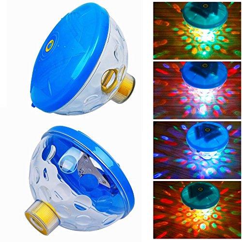 Ogori Underwater Light Show Assorted Colors Floating Led Pool Light 7 Light Patterns