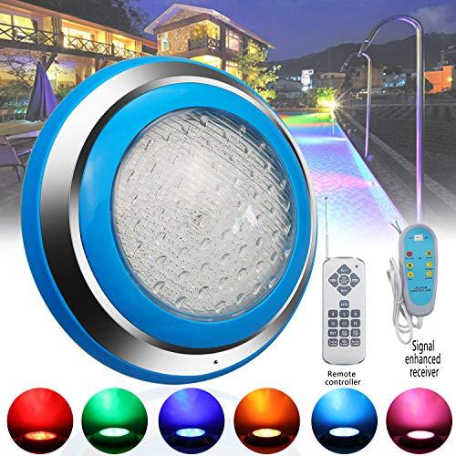 Upgrade Swimming Pool Lights RGB Led Pool Light 12V 35W Led Inground Pool Light Bulb with Remote Controller