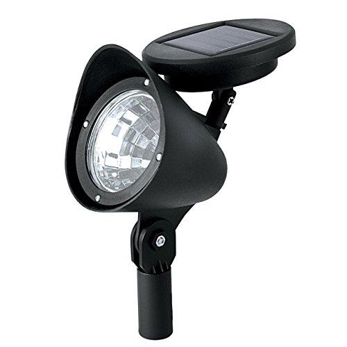 SODIALR Outdoor Solar Powered LED Spotlight Garden Pool Waterproof Spot Light Lamp