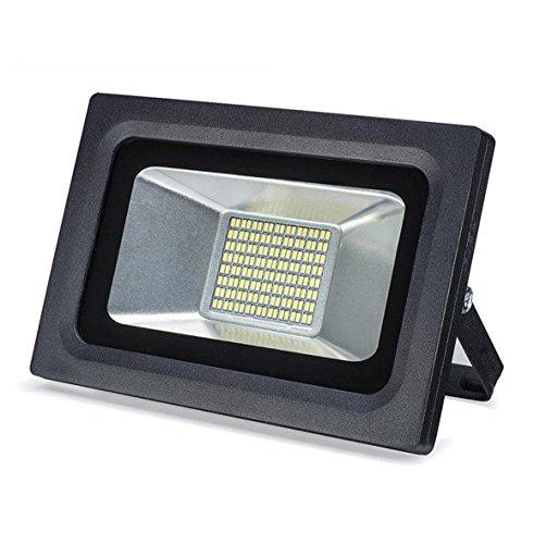 30W LED Flood Lights Fixture  Lantoo Super Bright LED Flood Light Outdoor 110V IP65 Waterproof 2250 LM Warm White 2700-3500K 144LEDs