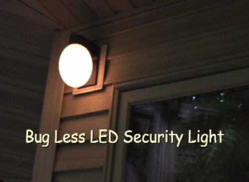 Bugless Led Outdoor Security Light Fixture