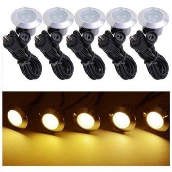 10 Pack LED Deck Lighting Fixture w Transformer