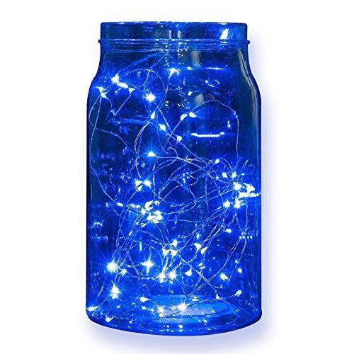 2 Sets Led String Lights Boyon Indoor And Outdoor Starry String Lights 98 Ft 30 Led Blue String Lights Best