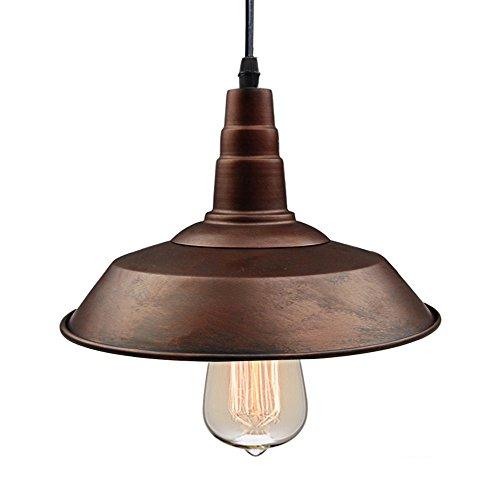 LNC Bronze Pendant Lighting Indoor Ceiling Lights Hanging Lamp for Kitchen Island Edison Industrial Lamp