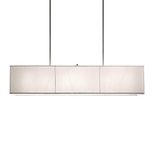 New 6 Lamp 48 Rectangular Shade Chandelier Pendant Lighting Fixture