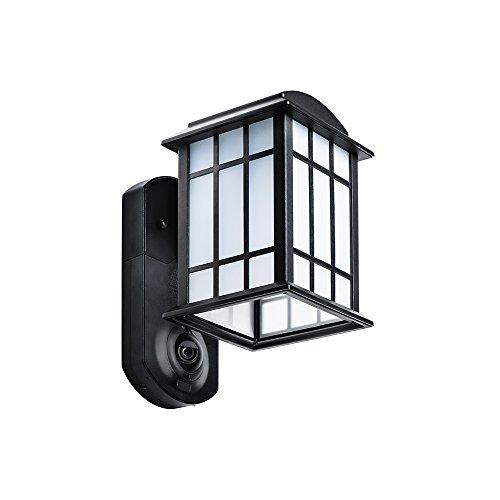 Kuna Smart Home Security Outdoor Lightamp Camera - Craftsman Black