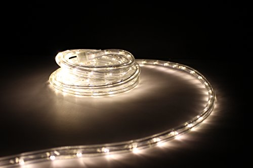 10ft Rope Lights Soft White Led Rope Light Kit 10&quotled Spacing Christmas Lighting Outdoor Rope Lighting