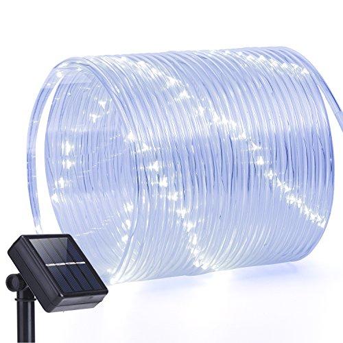 Solar Rope Lights,oak Leaf 41ft 100 Led Waterproof Led String Light,décor Rope Lights For Seasonal Decorative