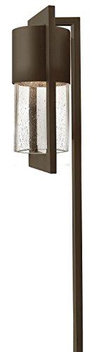 Hinkley Lighting 1547KZ Dwell 18-Watt T-5 Wedge Base Light Bulb Low Voltage Path Light Buckeye Bronze Finish