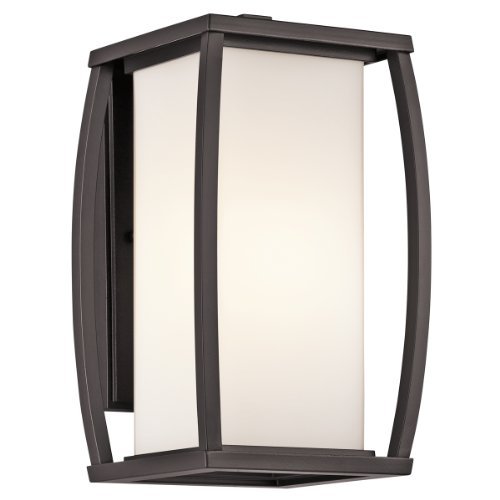 Kichler Lighting 49337az Bowen Outdoor Sconce Architectural Bronze