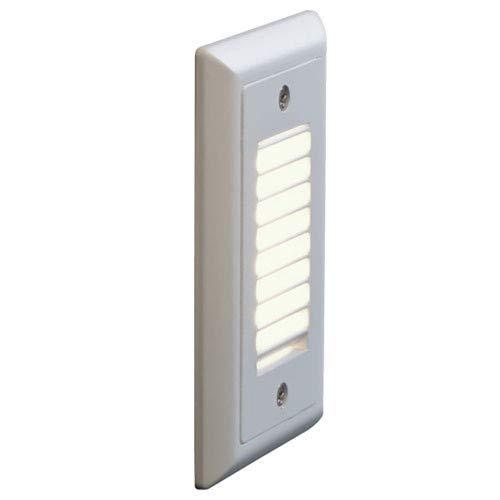 Bruck Lighting 138021WH3VL Step 1 3 Wide Integrated 3000K LED Landscape Step Light