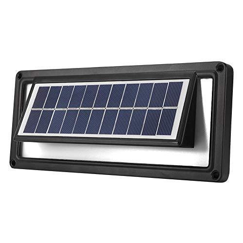 Riuty Solar Garden Wall Lights Intelligent Sound Control Sensor Solar Powered Pathway Landscape Step Lamp