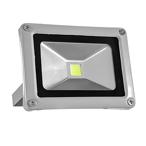 eTopLighting Flood Wash Light LED Indoor Outdoor Security Waterproof Landscape Lighting APL1167 10W Warm White 120V