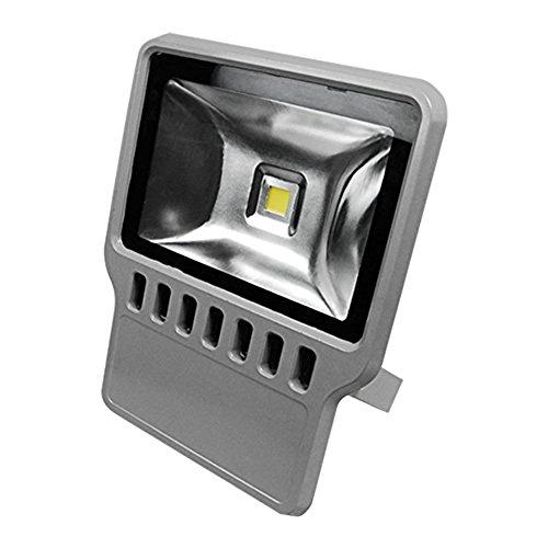 eTopLighting Flood Wash Light LED Indoor Outdoor Security Waterproof Landscape Lighting APL1187 100W Daylight 120V