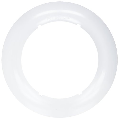 Hayward LNRUY1000 White Pool Light Trim Ring Replacement for Hayward Universal ColorLogic or CrystaLogic LED Light Fixture