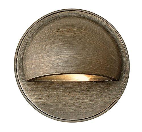 Hinkley Lighting 16801mz Hardy Island 20-watt T-3 Bi Pin Light Bulb Low Voltage Deck Sconce Light Matte Bronze