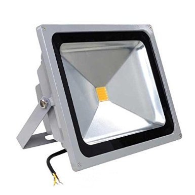 50 Watt LED Waterproof Flood Light Fixture Warm White