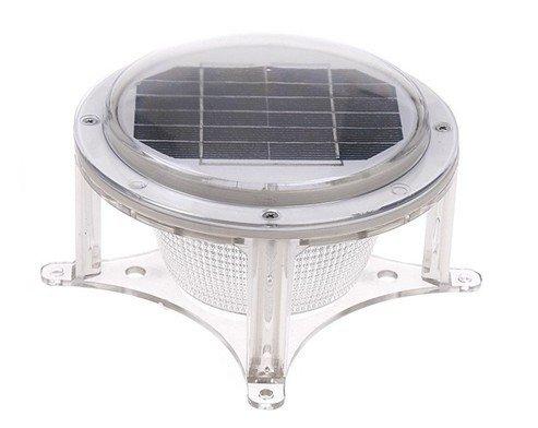 Generic Solar Powered Dock Lamp Column Energy Saving and High Brightness LED Lighting Outdoor Waterproof Lamp