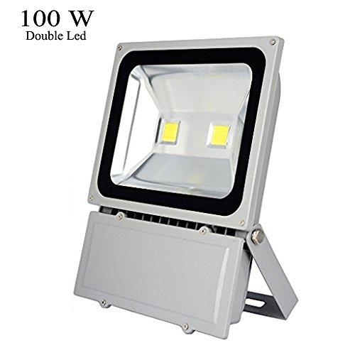 Glw&reg 100w Outdoor Led Flood Lights 6000k Daylight White Security Light Waterproof Floodlight Lamp 7800lm 900w