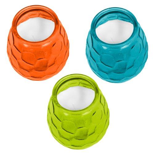 TIKI Brand 60-Hour Glass Citronella Candle 1 - 12oz