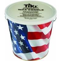 TIKI Brand USA American Flag Citronella Candle Bucket 1 - 16oz