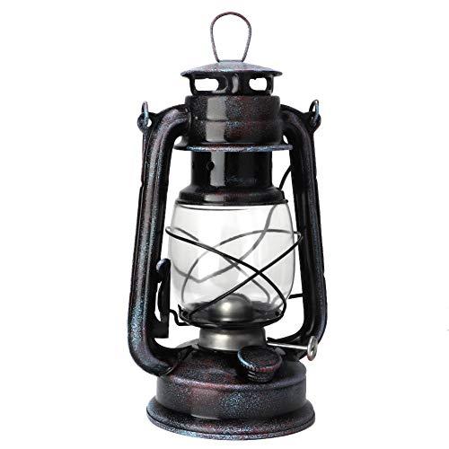 24cm Retro European Style Kerosene Lamp Vintage Kerosene Lantern Oil Lamp Portable Outdoor Camping Lights