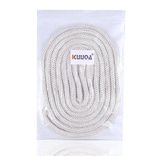 Kuuqa 13 Ft 12 Inches Diameter Fiberglass Tiki Torch Wicks Wine Bottle Wicks Tiki Wicks For Homemade Torches