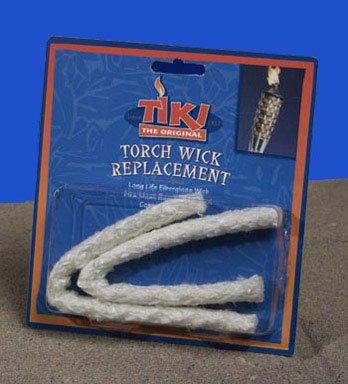 Tiki Torch Long Life Fiberglass Replacement Wicks