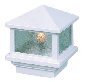 Sirius 110V Deck Light 4 Post 25W White